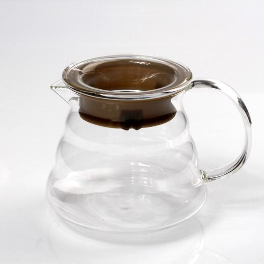 Hario V60 Range Server ถ้วยพักชากาแฟแก้วใส 360ml1