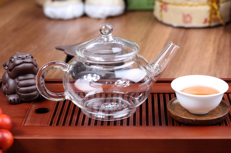 PB37 กาน้ำชา แก้วทนความร้อน 1